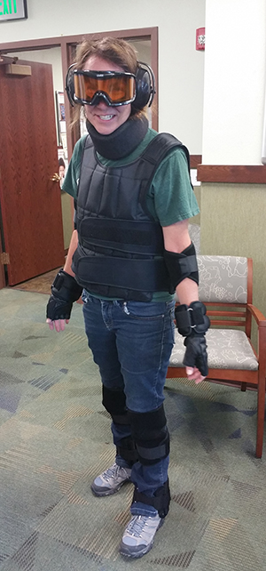 GERT age simulation suit