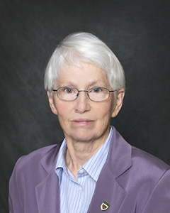 Beverly Hartline, Vice Cnancellor for Research and Dean of the Graduate School